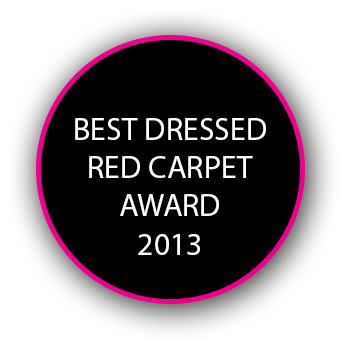 BEST DRESSES RED CARPET AWARD 2013